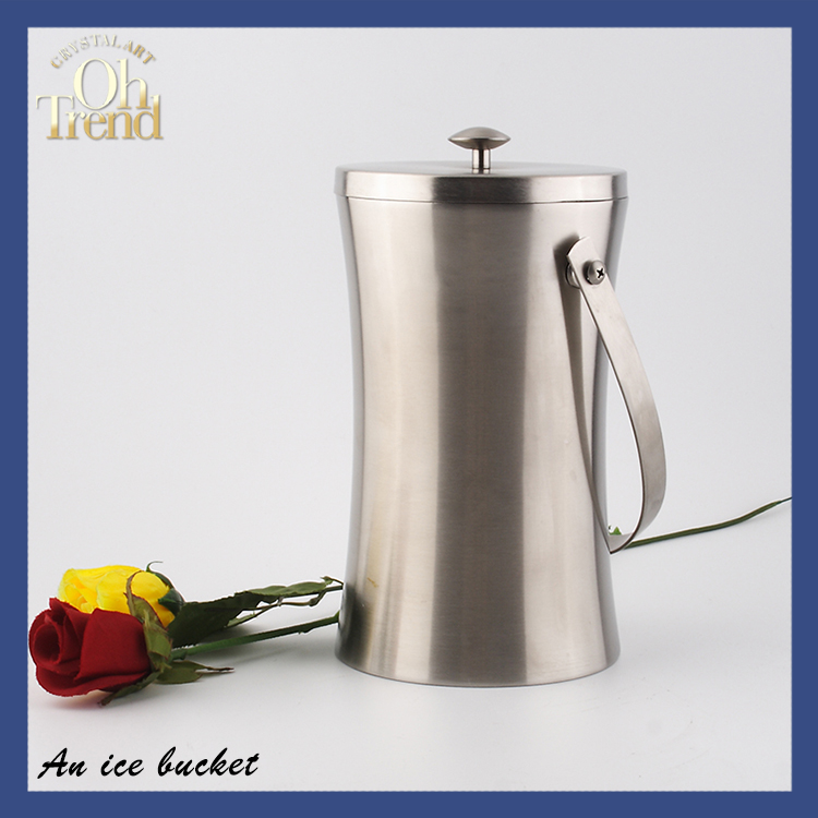High Quality Barware Stainless Steel Wine Cooler Dubai outdoor ice bucket table