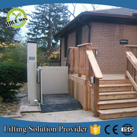 Vertical electric lift 3m wheelchair lift for handicapped / children with disabilities