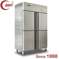 Auto-Defrost kitchen twin refrigerator and freezer