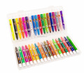 non-toxic soft gel pen,twister silky crayon for kids drawing