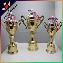new hotsale sports metal trophy cup/champions league trophies/cheap wholesale gold trophy awards
