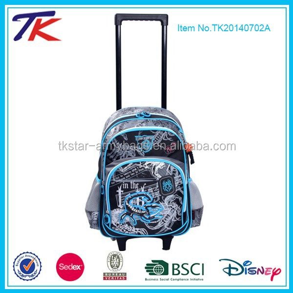 Cool School Kids Trolly Bag for Boys