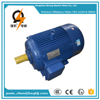 90kw 125hp high efficiency 440v specifications three phase mining ac electric fan motor