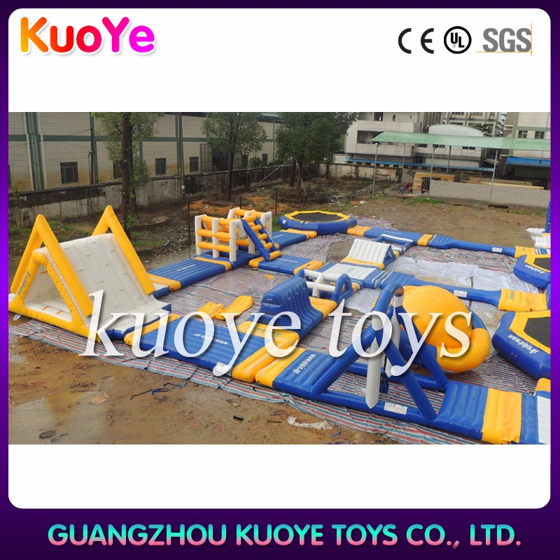 Commercial popular adult giant inflatable water park for sale