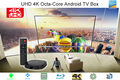 Ultra UHD 4K HD Quad/Octa Core Kodi OTT TV Box, Premium Android Smar Media Player Powered by Android 5.1 Lollipop with XBMC/KODI