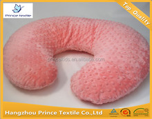 Peach Pink Minky Dots Large Nursing Pillow cover For Boppy Pillow