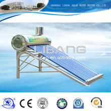Water heaters electric, home solar system stainless steel, non-pressurized solar water heater