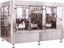 Automatic Bottles Rinsing, Filling And Capping Machine