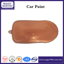 Copper Red Pearl auto paint car paint colors for steel lacquer