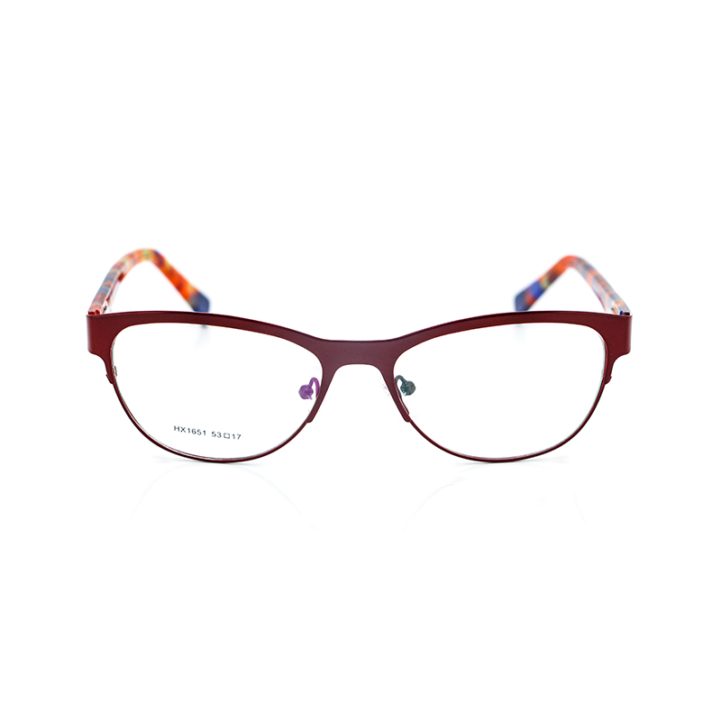 Ready Stock New Model Acetate Temple Eyewear Frame Fashion Stock Acetate Spectacle Frame