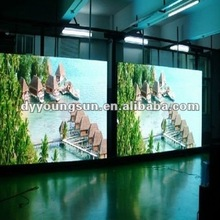 P6 full color indoor mobile LED display board
