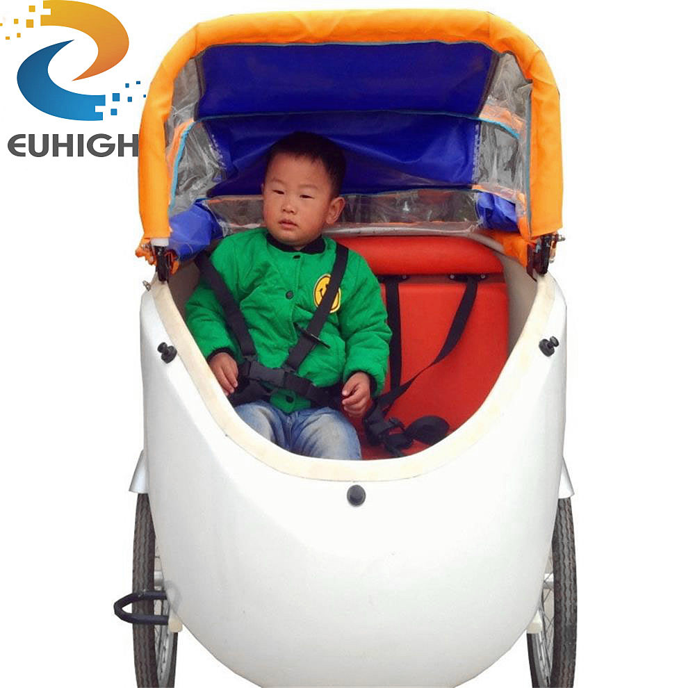 new model bakfiets three wheel tricycle electric cargo bike/cargo bicycle