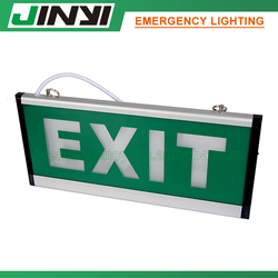 LED emergency exit sign for Exit or Escape indicator