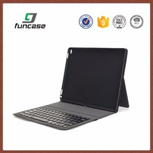 China customized tablet pc case with keyboard and touchpad pu leather tablet cases 10.1