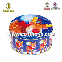 High Quality Tin Small Round Packaging
