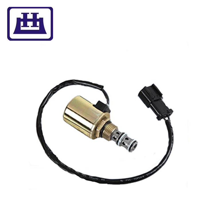 20Y-60-22121 SV1-3438-0 excavator Diesel <strong>Engine</strong> Stop 24V DC Solenoid For PC200-6