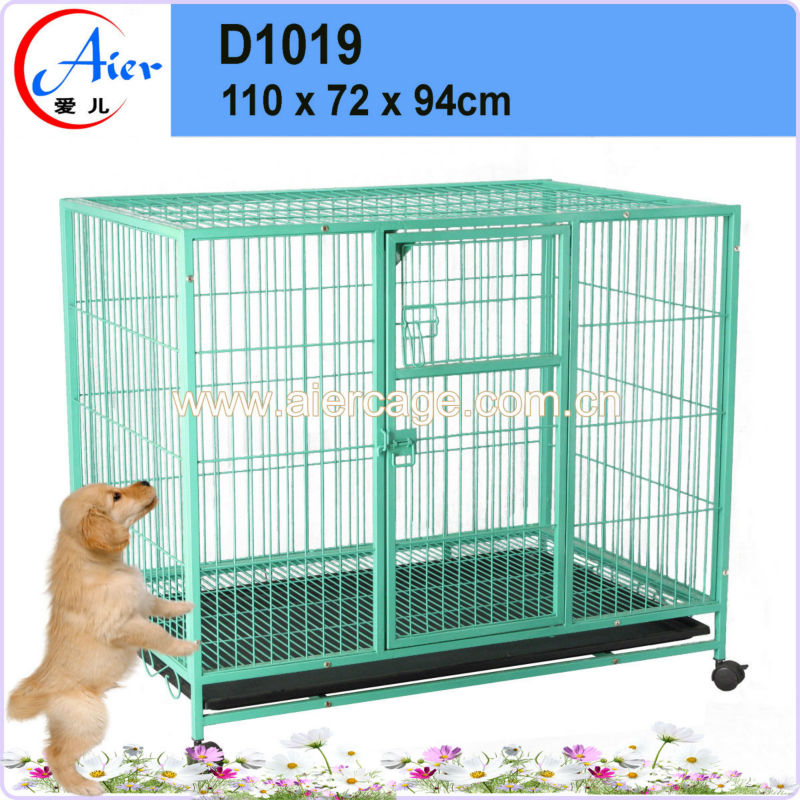 pet accessory dog cages metal sloping dog cage