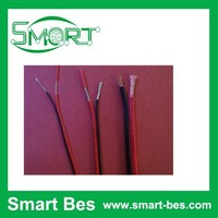 Smart Bes~Environmental UL2468 14AWG-26AWA red and black paralleled wire. parallel double row cable ,flat cable 100m/roll