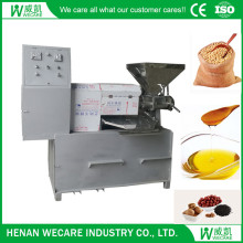 50KG/H home use cold screw oil press with vacuum oil filter 68A/68C