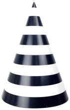 Striped Cone Party Hats Kids Birthday Party Favors