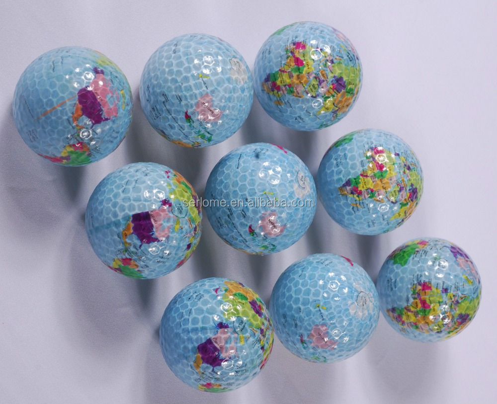 World Map Golf Ball Golf Balls Oem Great Golf Balls