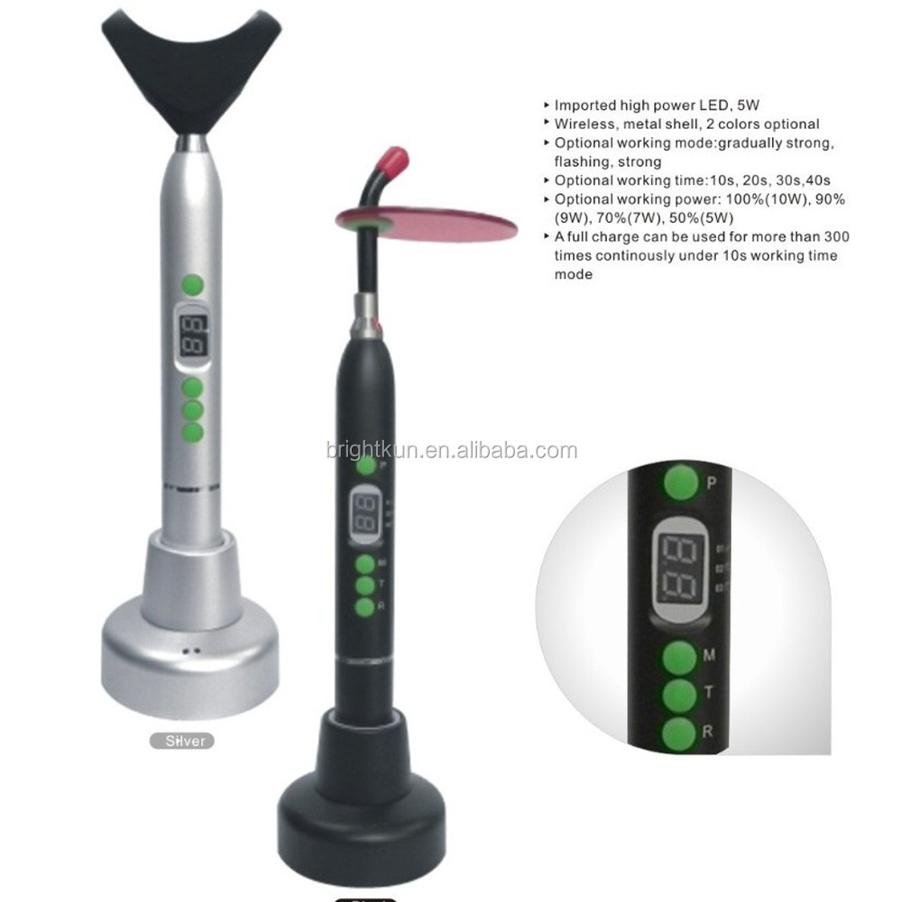 hot selling High Quality wireless dental led Curing Light/LED curing light