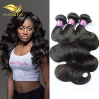 Free designing label 7a grade Factory wholesale price Body wave virgin brazilian hair extension