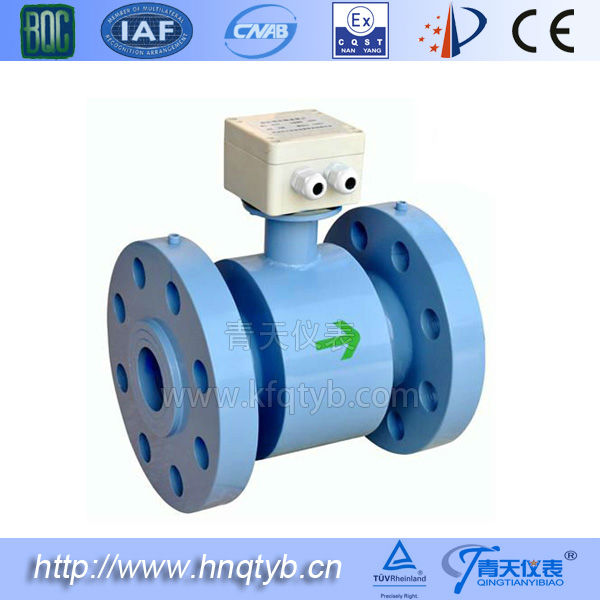 Electromagnetic High pressure fuel oil flow meter
