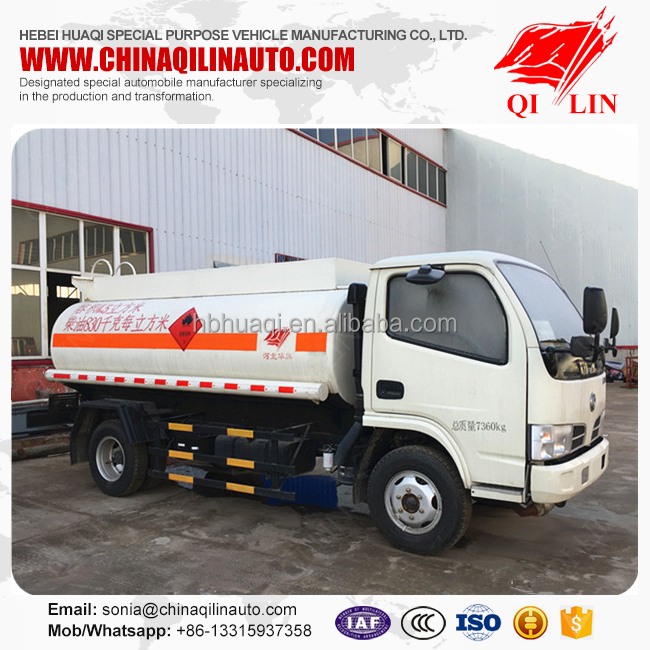 Diesel gasoline petrol refueling tank truck for export