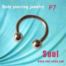 Fashion vibrating body piercing jewelry ear expander P7