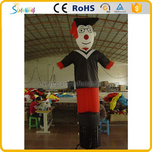 Cheap university graduates small inflatable air dancer
