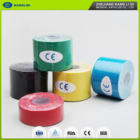 KLIDI Most Popular 5cm*5m Colors Muscle Kinesiology Sports Tape For Athletic