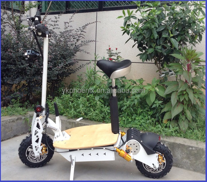 OEM acceptable evo 60v 2000w electric scooter for adult with front /rear lights ( PES02 - 60v2000W )