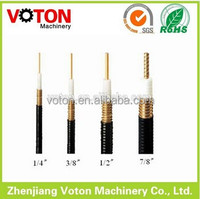 Suppier Voton 7/8 '' Corrugated RF feeder coaxial cable