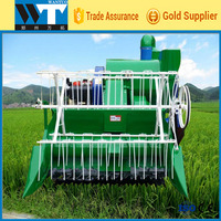 Small Hill Track Type Combine Rice Harvester