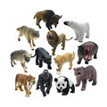 ICTI certificated custom made plastic wild animal toys action figure