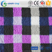 super soft eco-friendly printed plush fabric for blanket with low price