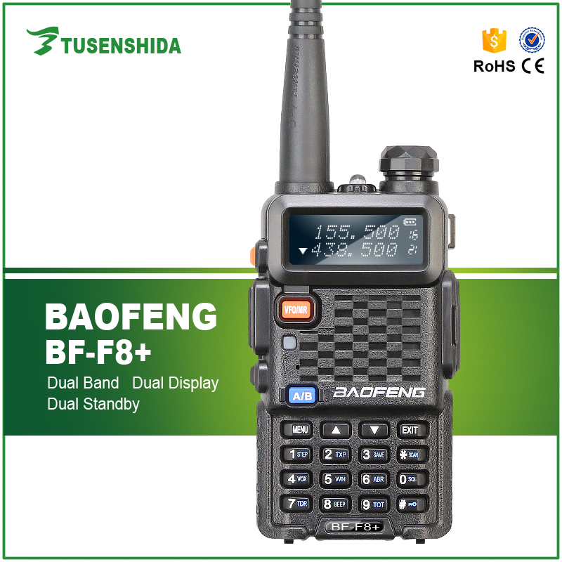 Baofeng transceiver BF-F8+ ham radio With Large Capacity Channel Storage