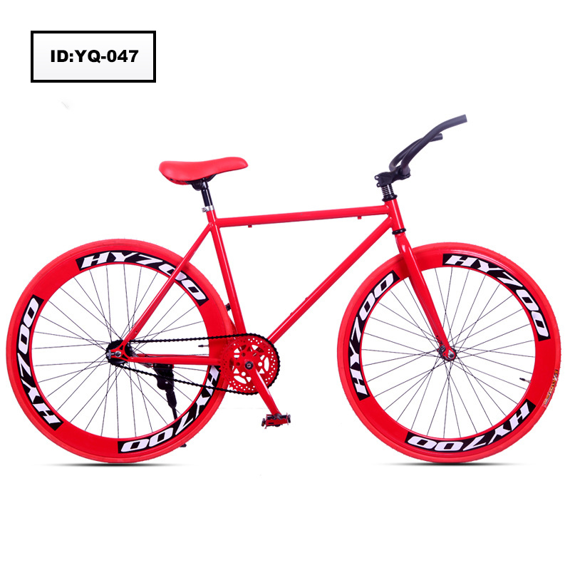 60mm Customized Cheap Price Colorful Fixed Gear bicycle Factory Direct Sale Sport Bikes