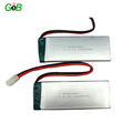 9759156 5C 3.7v 10Ah lipo battery with wire/PCB