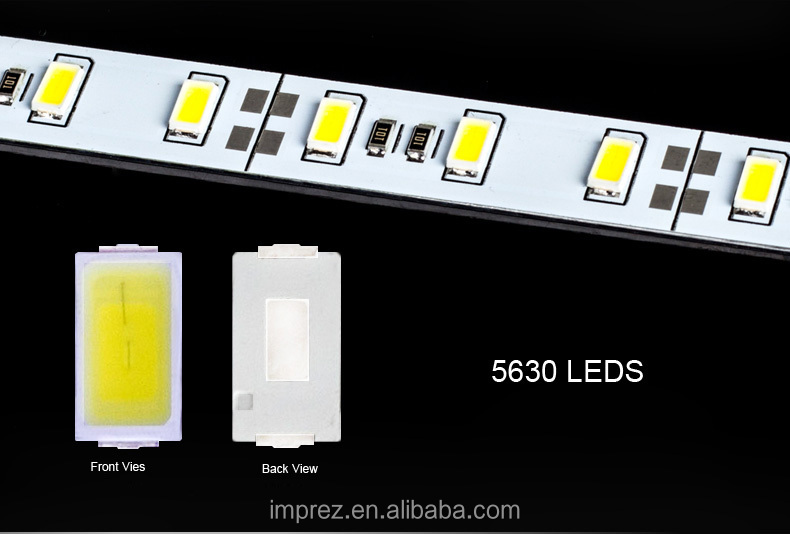 4014 144Leds led rigid bar 24v 990*12*1mm 22-24lm/led double row 4014 led bar light