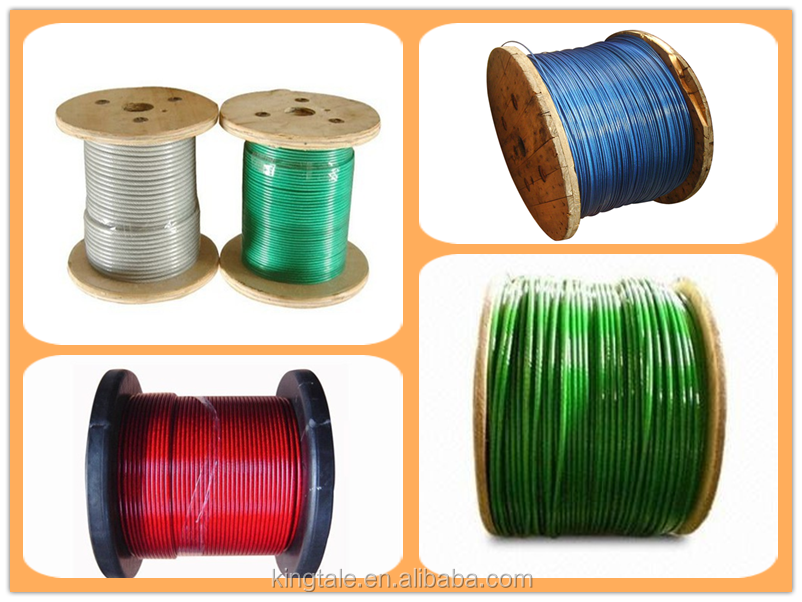 Plastic Nylon Coated Galvanizedsteel Wire Rope 14mm Buy