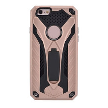 Premium Heavy Duty Shockproof Dual Layer Hybrid Armor Defender Full Body Protective Thin Phone Case for iPhone 6