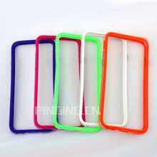 new design pc+tpu colorful frame bumper case for moto x