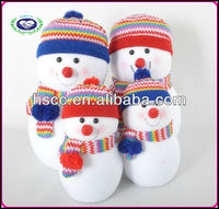2014 HSCC Lovely cartoon indoor decorative christmas snowman