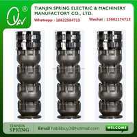 stainless steel deep well submersible pump made in tianjin