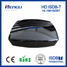 high quality MPEG 4 H.264 isdb-t full seg/1seg digital tv set top box