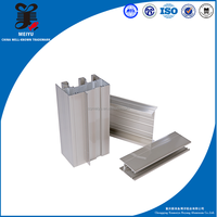 6063 T5 power coated/anodized extrusions aluminum profiles for insect screen