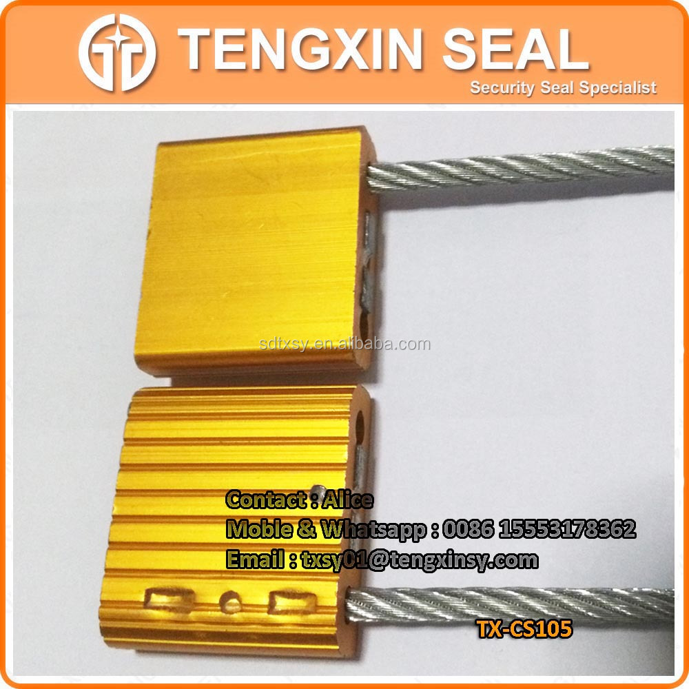 TX-CS105 Security pull tight cable electronic security seals