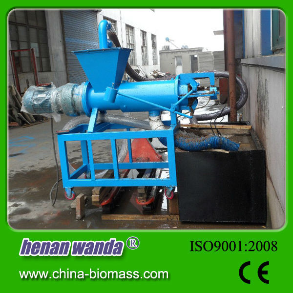 New Condition dewatering screw press for poultry manure